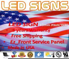 Led Sign P10 Dip Full Color Indooroutdoor Wifi Led 13 X 75 Ez Repair Usmade