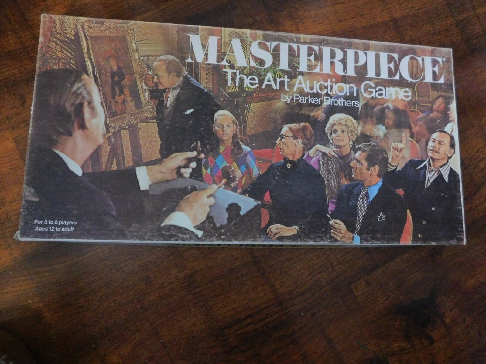 1970 MASTERPIECE GAME COMPLETE & GREAT CONDITION