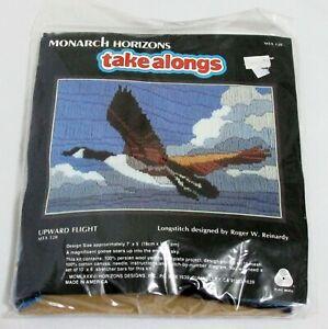 Upward-Flight-Longstitch-Monarch-Horizons-Vintage-Embroidery-7-x-5