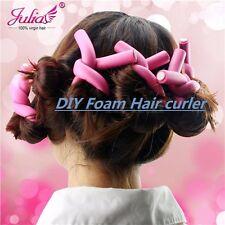 20pc Women Soft Foam Hair Curler Maker DIY Bendy Twist Curl Roller Free Shipping