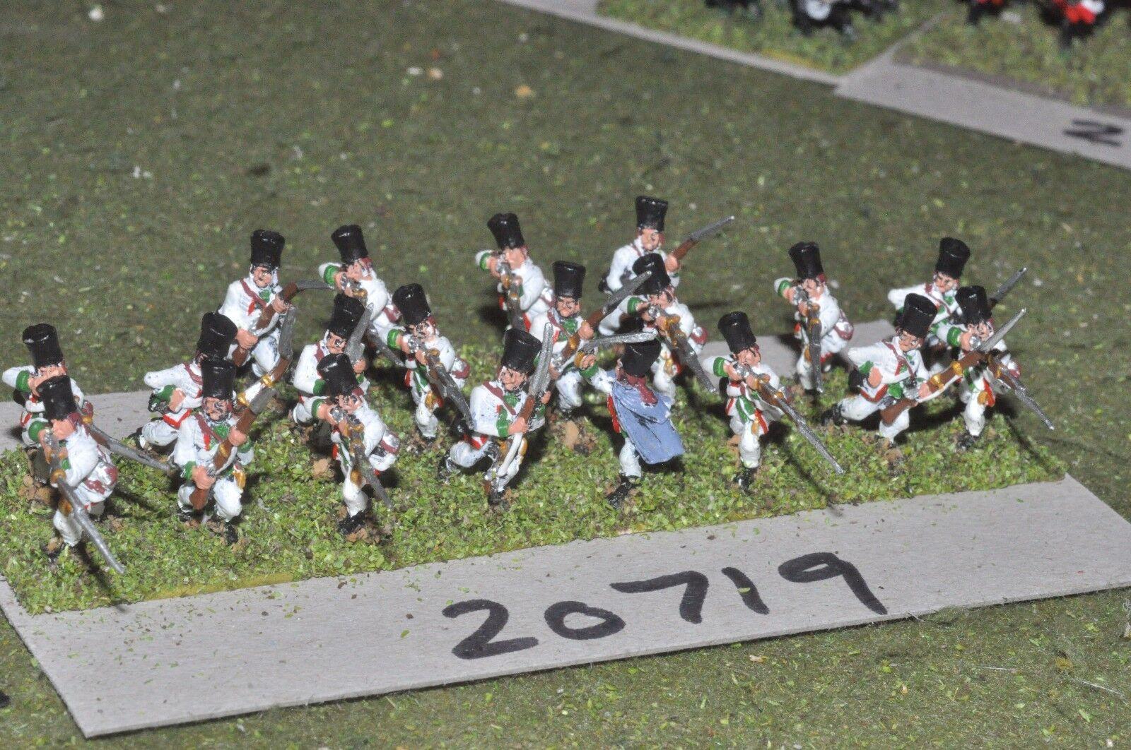 15mm 7YW   Austrian - seven years war infantry 20 figures  - inf (20719)