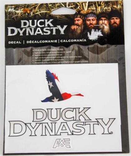 Duck Dynasty Sticker Truck Car Auto Back Window Flag Decal A/&E New
