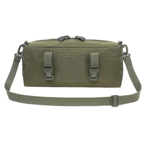 Wasserdichte Große Molle Hüfttasche Mehrzweck-Utility-Pouch Army Green