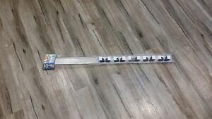 EZI Hanger 5 unit Broom + Mop Organiser