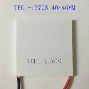 1Pcs New TEC1-12708 Heatsink Thermoelectric Cooler Cooling Peltier Plate Modu