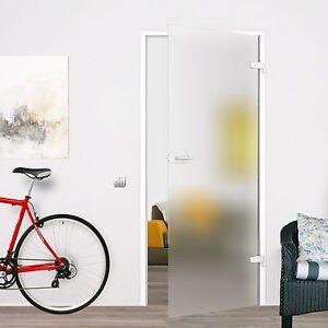 Glastur Satiniert Glas Innentur Zimmertur Ganzglastur Ps 584 709