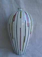 Keramikvase Italien italy 50er Jahre Bitossi ? graphisches Dekor q
