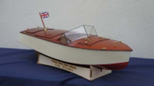 Sea Hornet Bateau Modèle Bateau en bois Kit modèles Lesro Lesro Lesro Les Rowell 341d48