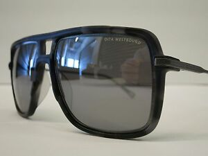 71a1d4b6338 Image is loading DITA-WESTBOUND-Matte-Grey-Tortoise-Silver-Flash-Glasses-