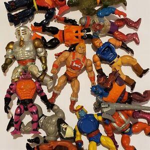 Lote-de-decada-de-1980-He-man-Amo-del-Universo-Amos-del-Universo-Wave-4-amp-5-figuras-de-su-eleccion