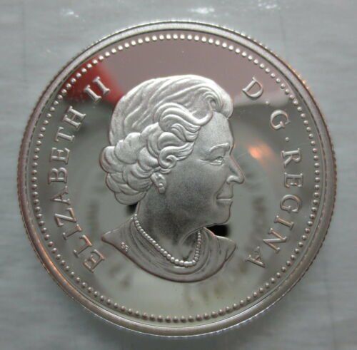 2004 CANADA 50 CENTS PROOF SILVER HALF DOLLAR COIN