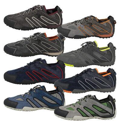 GEOX U SNAKE K Schuhe Men Herren Freizeit Sneaker Leder