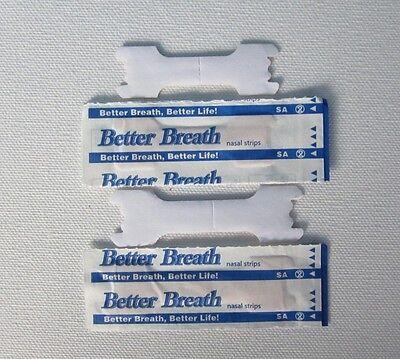 BONUS! 400+10pcs Large Tan Better Breathe Nasal Strips Right Way to Stop Snoring