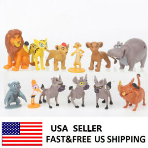 Details About The Lion King Simba Mufasa Pumbaa Movie Action Figure Doll Toys Kids Gifts 12pcs