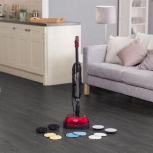 Floor Polisher Buffer Scrubber Cleaner Machine Wood Laminate Vinyl - Electric floor scrubber for vinyl floors