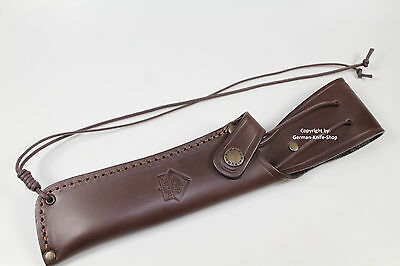 """SUPERB GERMAN PUMA LEATHER KNIFE SHEATH FIT FOR """"WHITE HUNTER"""" COLLECTORS KNIFE"""
