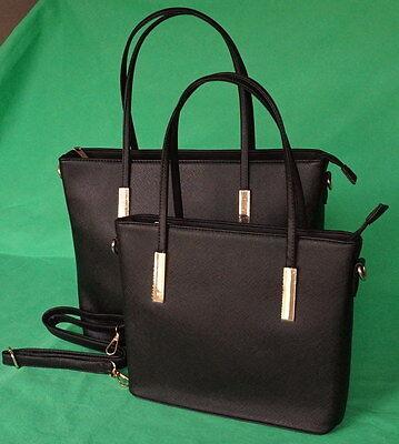 Shopper Tasche Handtasche Schwarz bag bags woman Schultertasche gross neu