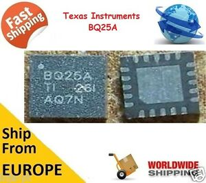 TEXAS-INSTRUMENTS-TI-BQ25A-QFN-SMBus-20PIN-IC-Chip-Battery-Charge-Controller-NEW