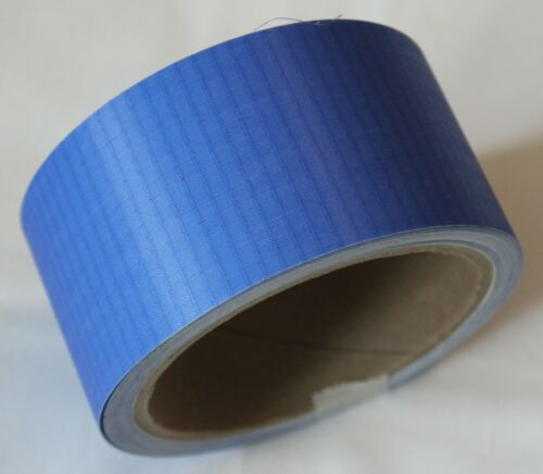 2 in by 25 ft Ripstop Kite Paraglider Sail Repair Nylon Tape Roll in Royal
