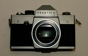Vintage slr camera praktica l excellent condition