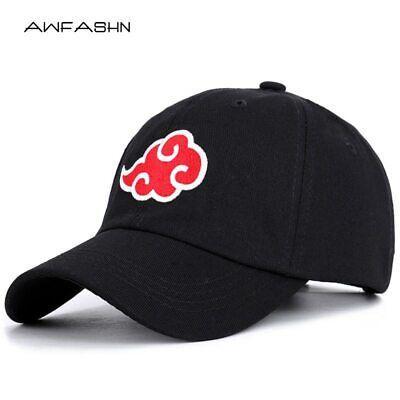 Anime Naruto Dad Hat Akatsuki Logo Uchiha Obito Pain Embroidery Baseball Caps