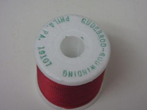Gudebrod Rod Winding Thread Maroon Size D 50 Yards Fly Tying Crafts