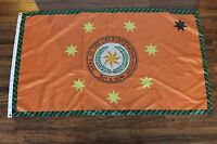Cherokee Nation Flag Native American Indian Orange 3' X 5' September 6 1839