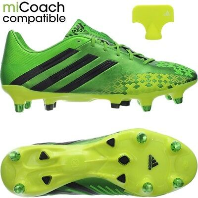 Adidas Predator LZ XTRX SG professional men's soccer cleats greenyellow | eBay