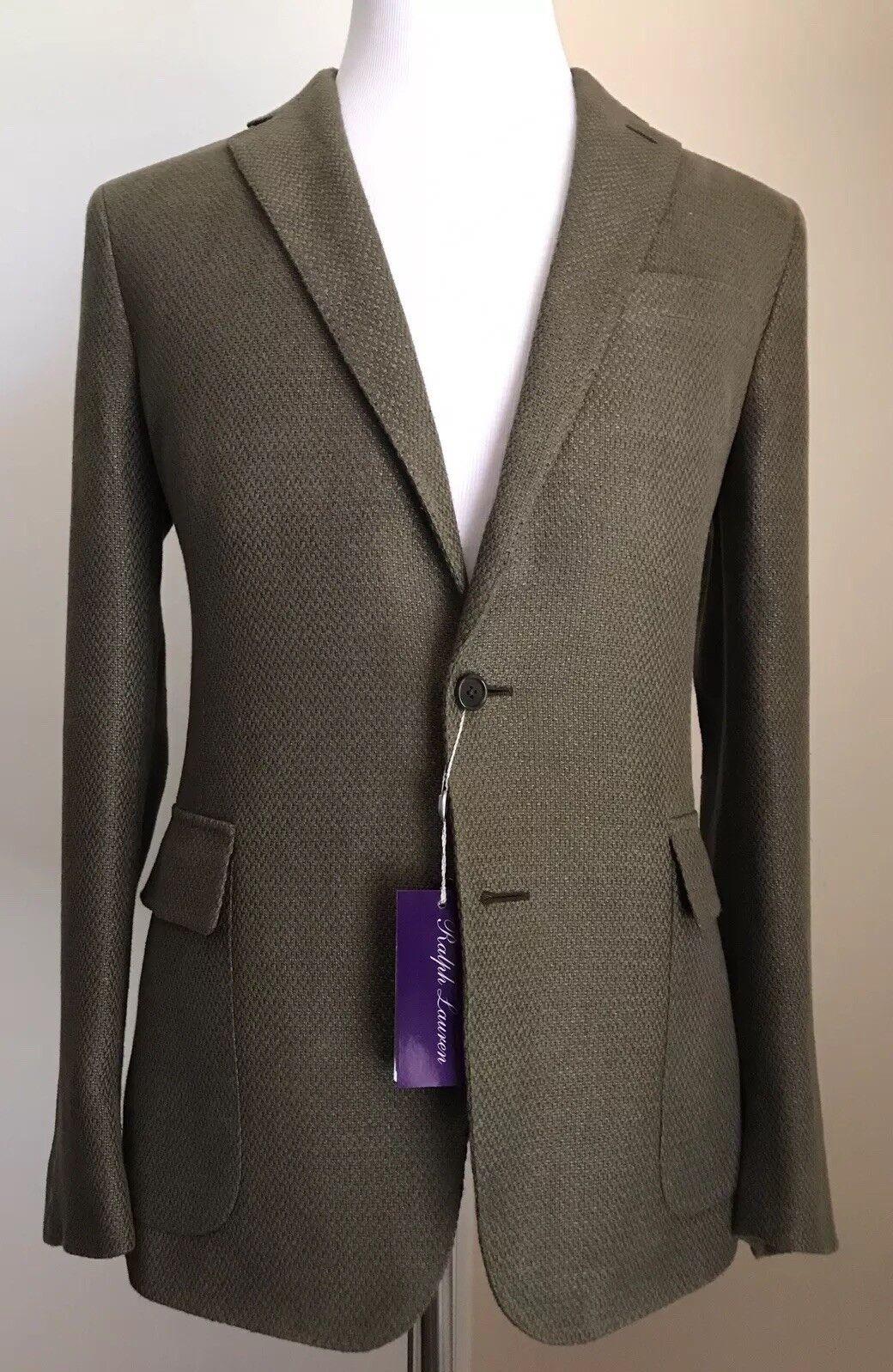 NWT 1995 Ralph Lauren lila Label  Herren Sport Coat Blazer Olive 40R
