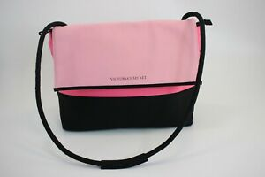 NWT Victorias Secret Pink Black Neoprene Insulated Cooler Tote Picnic Lunch Bag