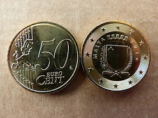 Pièce monnaie MALTE MALTA 50 CENT 2016 NEUVES NEW UNC