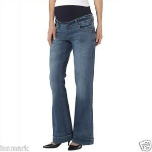 a76fd2b901ca6 Image is loading 248-Maternity-Mother-Pants-Propping-Belly-Bootcut-Short-