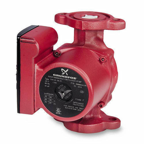 IFC 59896341 Grundfos UPS15-58FC 3-Spd Circulator Pump