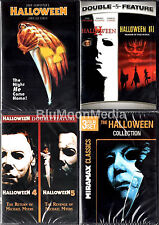Halloween Dvd Box Set.Halloween 1 8 Dvd Collection Lot 1 2 3 4 5 6 7 8 Original Series Set New