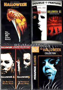 Halloween-1-8-DVD-Complete-Original-Movies-Collection-lot-1-2-3-4-5-6-7-8-NEW