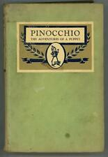 Pinocchio: The Adventures of a Puppet by C. Collodi (Charles Folkard Art)