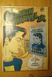 Captain-Marvel-Jr-50-1947-June-SHAZAM-GREAT-SHAPE-COVERLESS-BILLY-BATSON