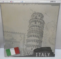 Sugar Tree - Italy Scrapbooking Paper Pack Of 25