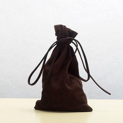 Medieval Larp Pagan Reenactment Money Bag Drawstring Coin Wallet Mini Bag Purse