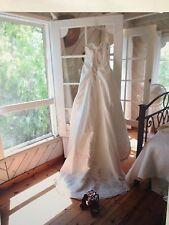 EUC $1,200 Haute Couture By Maggie Sottero Wedding Dress Size 6, 8