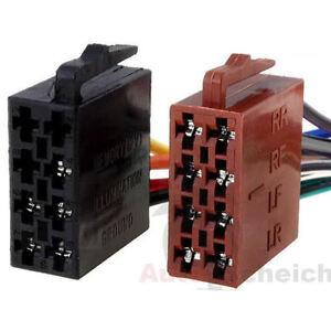 ISO Auto Radio Stecker Adapter Kabel Strom Lautsprecher DIN Buchse ...