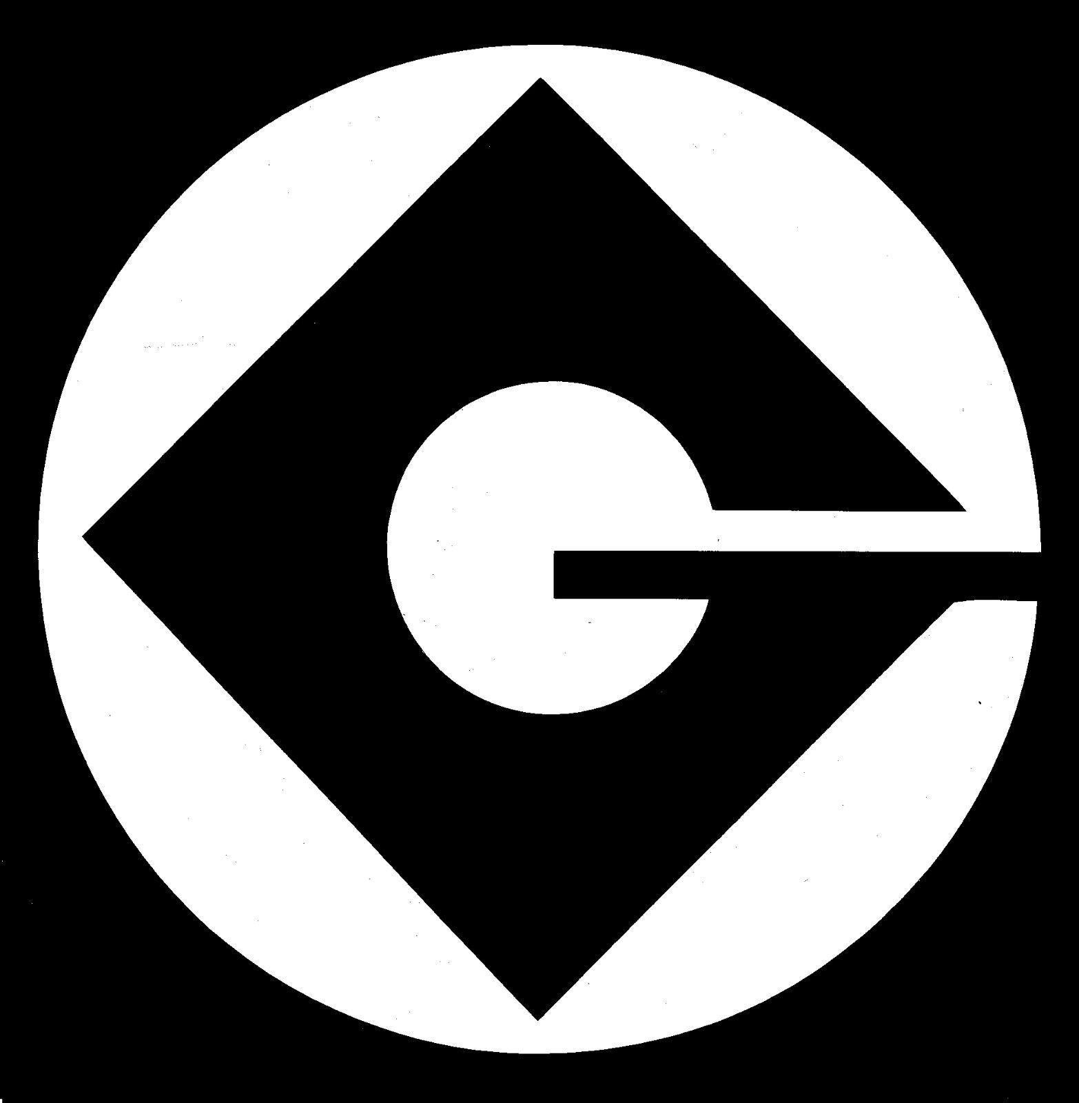Gru G Logo From Despicable Me And Minion Movies Vinyl Decal
