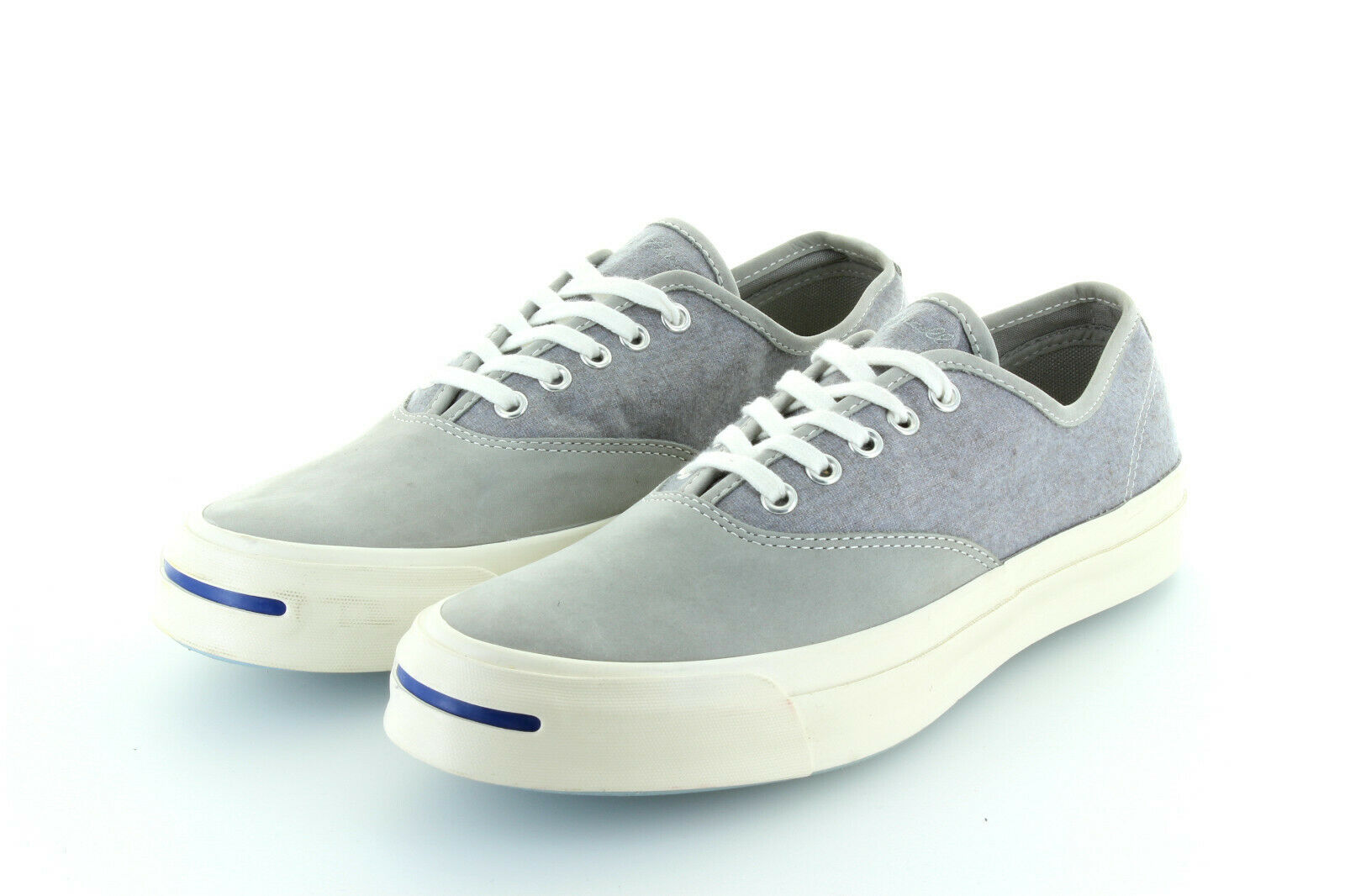 Converse Jack Purcell Signature Ox gris Dolphin leather textile 42,5 US 9