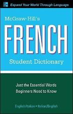 McGraw-Hill's French Student Dictionary (McGraw-Hill Dictionary)