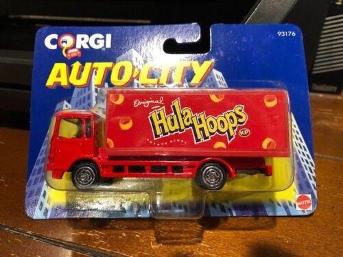 1993 Corgi Auto-City Mattel Hula Hoops Box Truck #93176