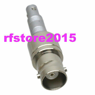 BNC Q9 Female to LEMO-00S C5 Male Adapter for Ultrasonic Flaw Detector