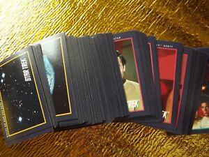 Star Trek: series 1, 1991 Paramount  Card COMPLETE Set