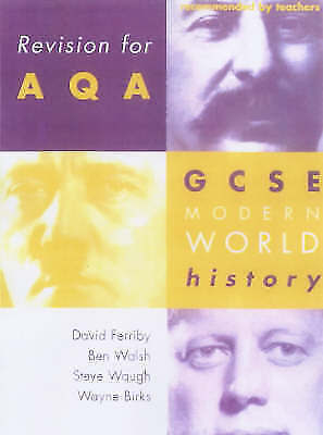 Good, Revision for AQA: GCSE Modern World History (Revision for History), Ferrib