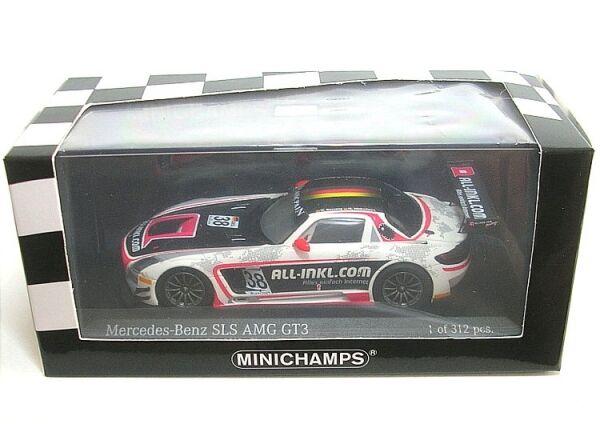 MERCEDES-BENZ SLS AMG gt3 n. 38 WINNER fia gt1 World Championship (Basseng, Wink