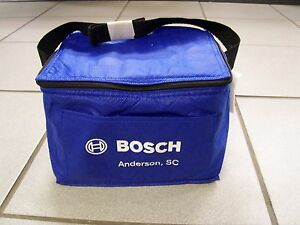 fbb578d7657 Image is loading Blue-Bosch-Cooler-Lunch-Bag